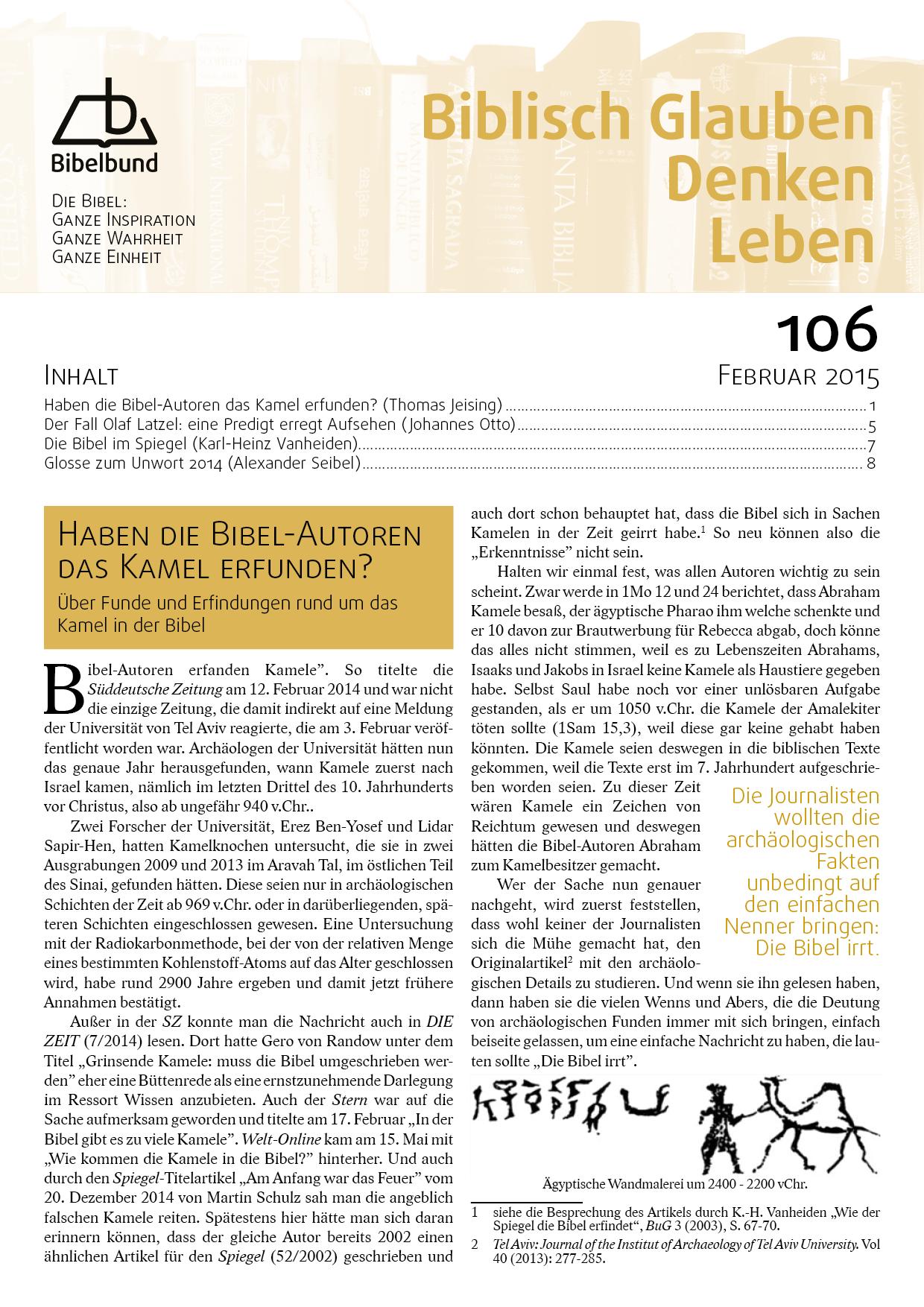 Februar | 2015 | Bibelbund | Page 5